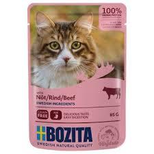 <b>Bozita Chunks</b> in Sauce Pouches Saver Packs 24 x 85g   zooplus