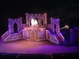 Beauty And The Beast Musical Set Design Castle Painted For Beauty And The Beast Theatre Sets