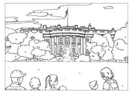 Small Picture The White House Colouring Page