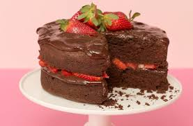 Chocolate And Strawberry Cake Baking Recipes Goodtoknow