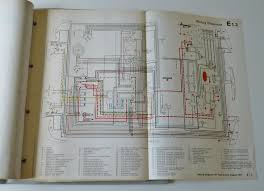job lot of original vw wiring diagrams earlybay com forums image