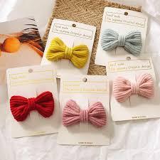 Vintage fashion, linen, oversized bow <b>hair clip</b>, Korean headgear ...