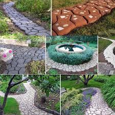 stone road pavement mold manually diy