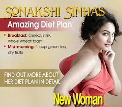 Sonakshi Sinha Weight Loss Diet Chart Celebrity Fitness Sonakshi Sinhas Weightloss Secret
