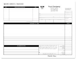 Auto Repair Form Template Repair Work Order Template