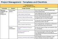 Project Management Templates Checklists And Tips It Process Wiki