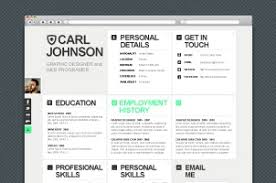 Creative Web Resume Template