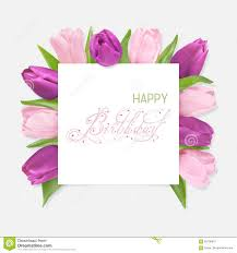 happy birthday pink and green happy birthday card stock image image of romantic happy 89100815