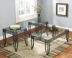 ashley furniture glass coffee table set end tables piece coffee table set furniture glass end