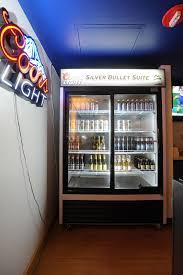 Coors Light Vending Machine Simple Premium Coors Light Silver Bullet Suite Milwaukee Bucks
