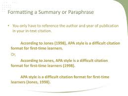 Apa Style Workshop Ii In Text Citations And References Ppt Download