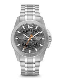 harley davidson men s watches bulova 76a157 harley davidson men s watch
