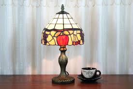 tiffany style desk lamp style fruit mosaic table lamps for bedroom inside stained glass desk lamps tiffany style desk lamp