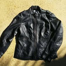 black faux leather jacket m 56633e3851e9eaf634008654