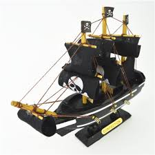 large wooden pirate ship