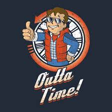 <b>Fallout vault boy</b> back to the future