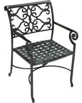 cast aluminum patio chairs. Veracruz Solid Cast Aluminum Patio Chair Chairs D
