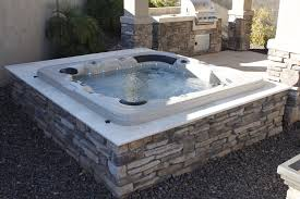 delux custom acrylic spa