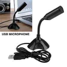 <b>USB Mini Desktop</b> Speech Microphone Stand for PC Laptop ...