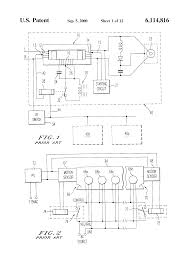 patent us6114816 lighting control system for discharge lamps patent drawing