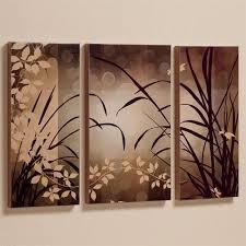 set of three framed wall art