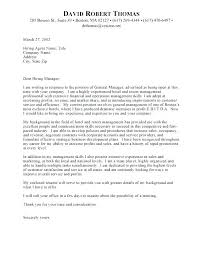 Hospitality Management Cover Letter Cover Letter For Hotel Job