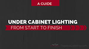 installing cabinet lighting. Under Cabinet Lighting From Start To Finish - A Guide Installing