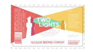 Allagash Two Lights Allagash Files Label For Two Lights Tenemu
