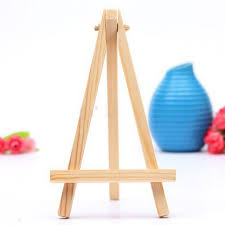 Painting Display Stands New 100Pcs Mini Wood Artist Tripod Painting Easel For Photo Painting 61