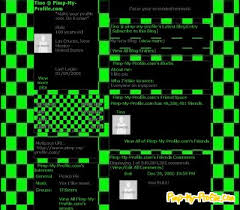 Green Layouts Black Green Checkers Myspace Layouts Pimp My Profile Com