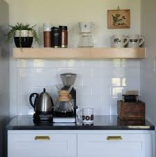 Kitchen Coffee Station Coffee Station Organizer Med Art Home Design Posters