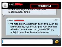 Image result for testimoni campak qnc jelly gamat
