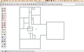 sketchup tutorials for interior designers learn how to draw a floor plan in sketchup