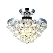 chandeliers crystal flush mount lighting nerisa black semi flush mount 4 light crystal chandelier home