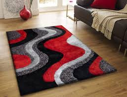 gray and red rug awesome exterior with daniya overdyed grey dark brown area full image for