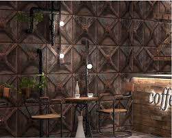 Us 3975 25 Offbeibehang Vintage Industrial Style Wallpaper 3d Tin Wallpaper Roll Restaurant Bar Background Home Decoration Papel De Parede 3d In