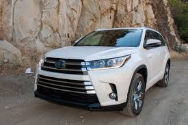 2017 Toyota Highlander and Highlander Hybrid Review: First Drive ...