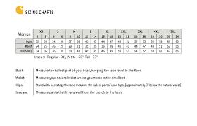 Carhartt Size Chart Women S Carhartt Size Chart Womens Scrubs N Such