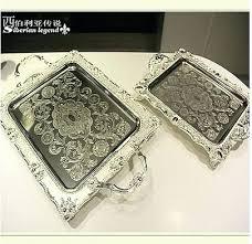 Decorative Metal Serving Trays Decorative Serving Trays Burnt Orange And Black Decorative Square 56