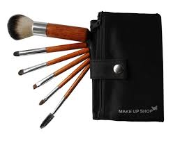 get ations 6pcs hot ing good makeup brushes uk smiple use wood makeup brush set