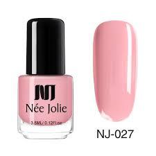 <b>NEE JOLIE Nail Polish</b> Fast Dry Pure Nail Color Coffee Gray Red ...