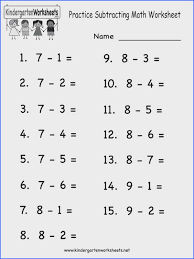 Addition Worksheets for Kindergarten | Mychaume.com