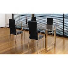 Articoli per sedie moderne cucina e pranzo 4 pelle e metallo