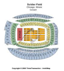 Chicago Bears Soldier Field Seating Chart Soldier Field Stadium Tickets In Chicago Illinois Seating