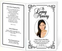 funeral pamphlet free funeral program template microsoft word passed free