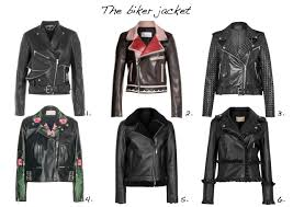 biker jackets alexander mcqueen leather biker jacket red valentino leather jacket french connection chaos leather studded