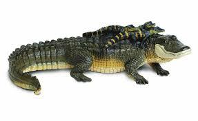 Lighted Alligator Lawn Ornament Best Alligator Babies Animal Statue Sculpture Outdoor Display Garden Lawn Decor