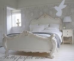 white shabby chic bedroom furniture. Shabby Chic Bedroom Laura Ashley Wallpaper White Furniture C