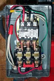 wiring magnetic definite purpose starters for compressor the rh garagejournal com weg magnetic starter diagram magnetic starter wiring diagram