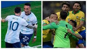 يلا شوت الارجنتين والبرازيل بث مباشر HD| نهائي كوبا امريكا| مشاهدة مباراة البرازيل  والارجنتين بث مباشر اليوم 10-7-2021